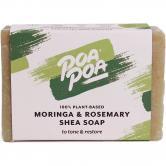 Poapoa Moringa & Rosemary Shea Seife, 100 g
