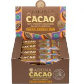 Aduna Cacao Raw Energy Rohkost-Riegel, 40 g, 16er Box