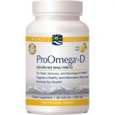Nordic Naturals ProOmega-D (1000 mg, 60 Softgels)