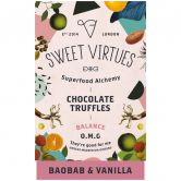 Sweet Virtues Schokoladentrüffel Baobab & Vanille, 115 g