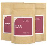 Bio Baobab Pulver, 100 g, 3er Pack