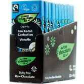 The Raw Chocolate Co. Rohkost-Schokolade Vanoffe, 44 g, 12er Box