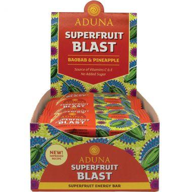 Aduna Superfruit Blast Energy Rohkost-Riegel, 40 g, 16er Box