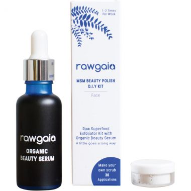 Raw Gaia MSM Beauty Peeling Set, 30 ml