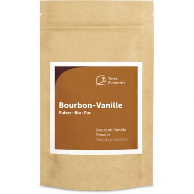 Bio Bourbon-Vanillepulver, 60 g