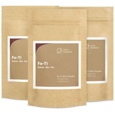 Bio Fo-Ti Pulver, 100 g, 3er Pack
