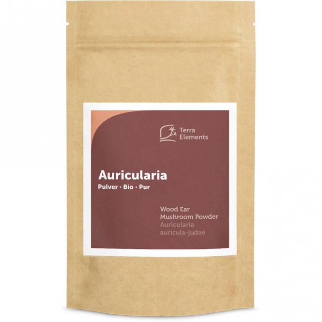 Bio Auricularia Pulver, 100 g