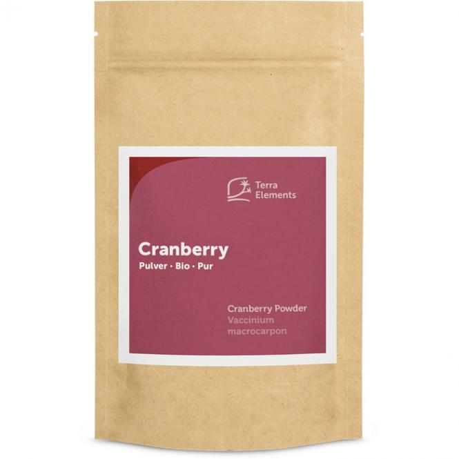 Bio Cranberry Pulver, 100 g