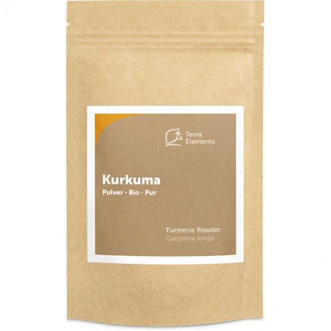 Bio Kurkuma Pulver, 200 g