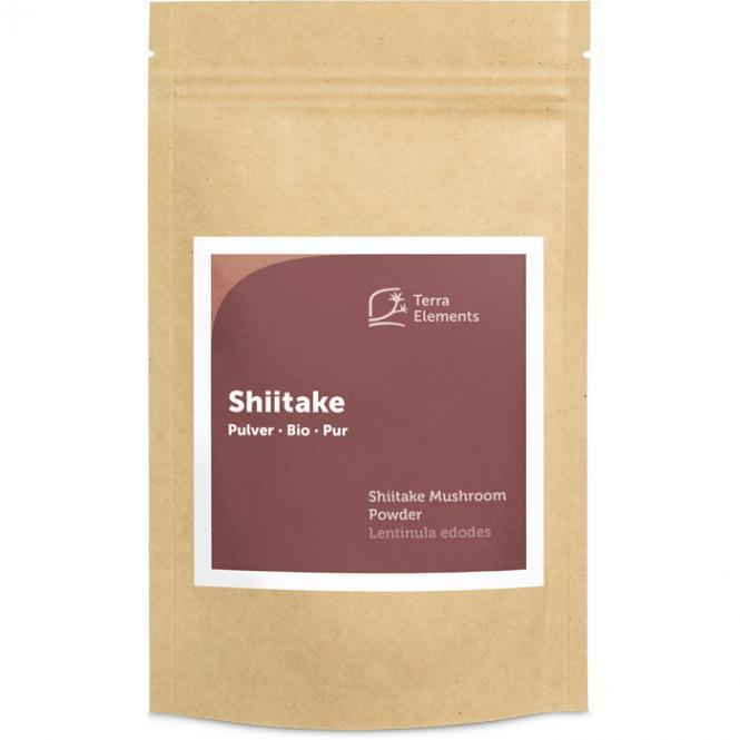 Bio Shiitake Pulver, 100 g