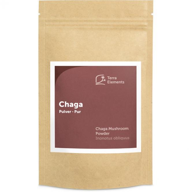 Bio Chaga Pulver, 100 g