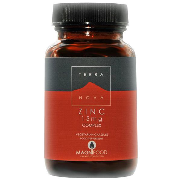 Terra Nova Zinc Complex (15 mg, 50 Vegicaps)