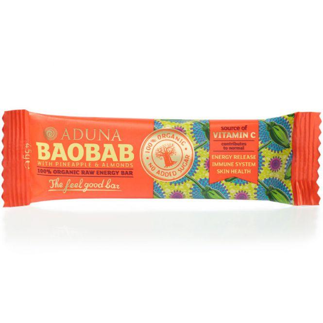 Aduna Baobab Raw Energy Rohkost-Riegel, 45 g