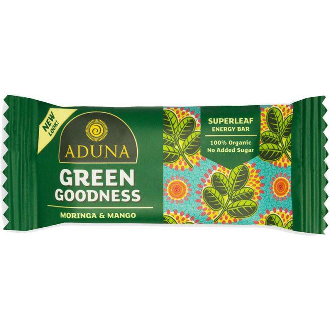 Aduna Green Goodness Energy Rohkost-Riegel, 40 g