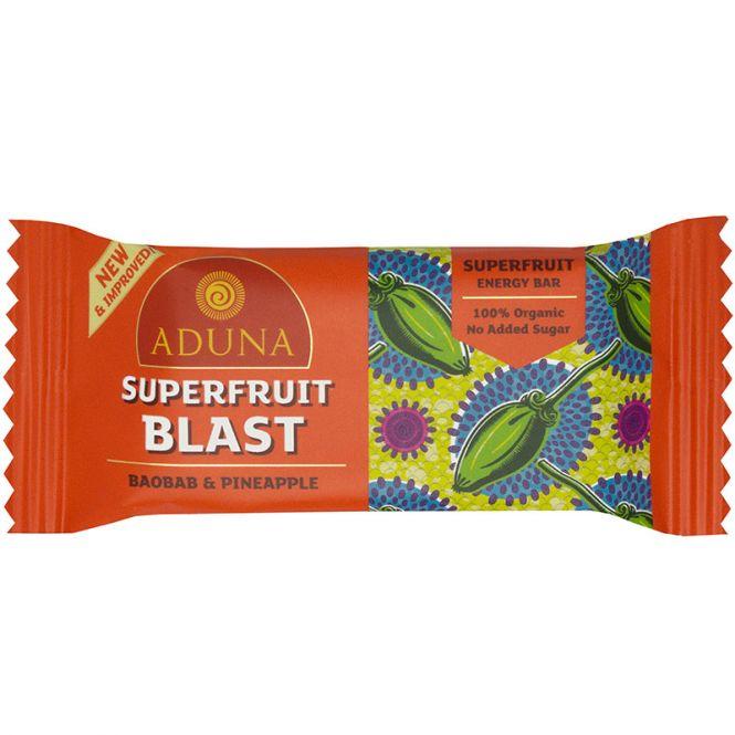 Aduna Superfruit Blast Energy Rohkost-Riegel, 40 g