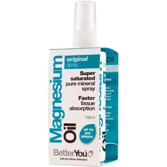 BetterYou Magnesium-Öl Original Spray, 100 ml