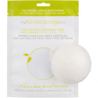The Konjac Sponge Co. Original Pure Konjac Sponge Puff