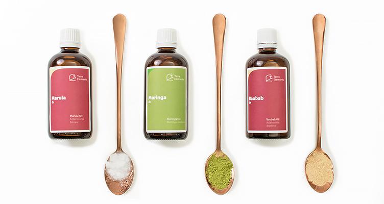 Marula Öl, Baobab Öl, Moringa Öl