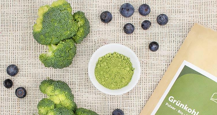 Vitamin C Quellen: Brokkoli und Grünkohl