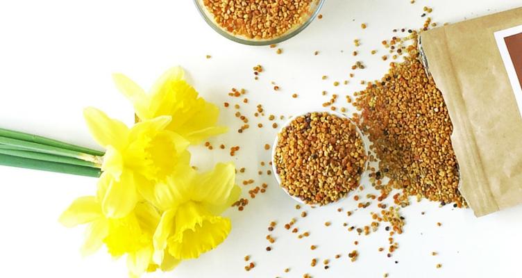 Superfood Blütenpollen im Frühling