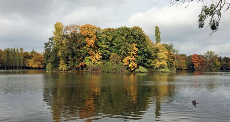 Kleinhesseloher See München