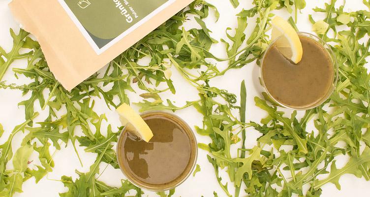 Grünkohl Smoothie mit Mandelmilch