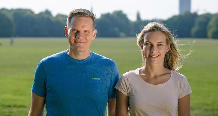 Jasmin und Patrick von Healthy Habits