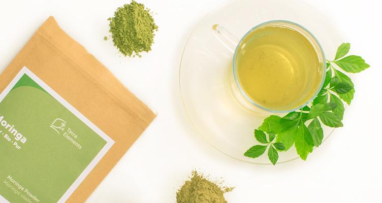 Moringa Tee und Superfood Kräutertee Rezepte