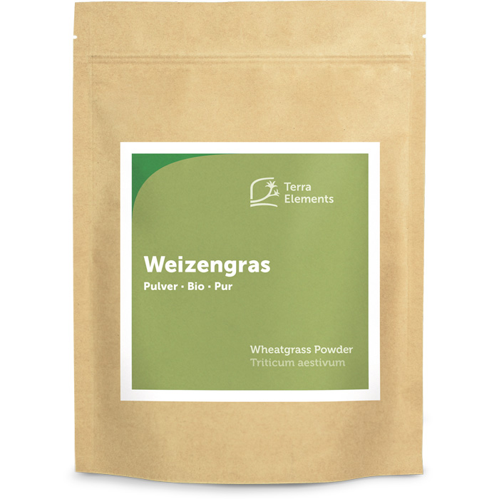 bio weizengras pulver 500 g terra elements. Black Bedroom Furniture Sets. Home Design Ideas