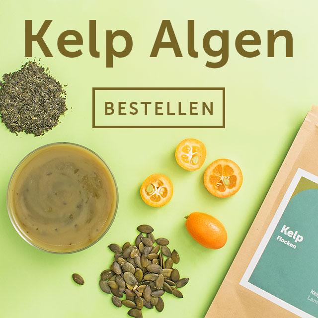 Kelp Algen Pulver bei Terra Elements München