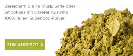 Superfood-Pulver